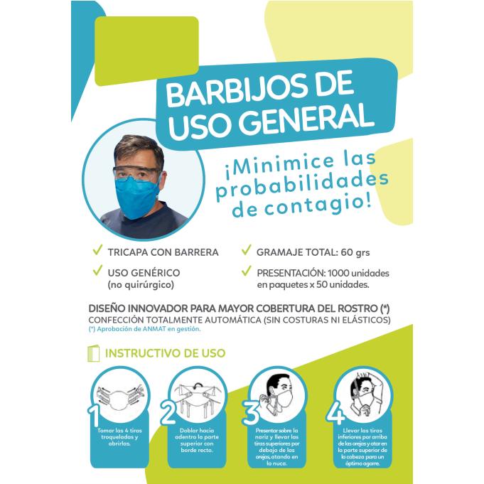 Barbijo descartable 5